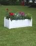 Truhlík na rostliny obdélníkový - zelená